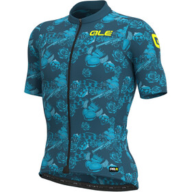 Alé Cycling PRR Las Vegas SS Jersey Men, blue/turquoise